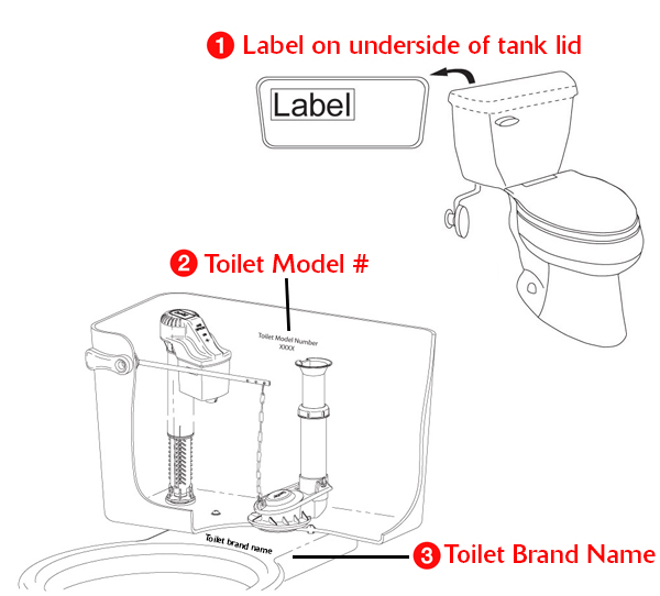 Toilet Guts Diagram | Toilet Fill Valve Replacing Toilet Fill Valve Fill Valve