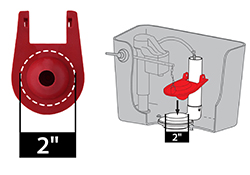 toilet flapper valve sizes. 2 Inch Flappers What Toilet Flapper Size Do I Need  Replacement