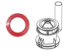 450 flush valve seal