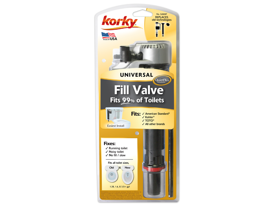 QuietFILL® Platinum Fill Valve