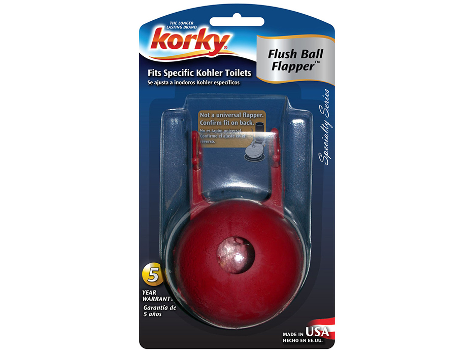 Fits Kohler® Flush Ball Flapper