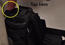 Tap fill valve float