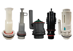 canister flush valves