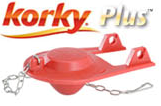 Korky Plus Universal Replacement Toilet Flapper Proven Longest Lasting