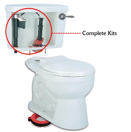 Toilet Repair Kits