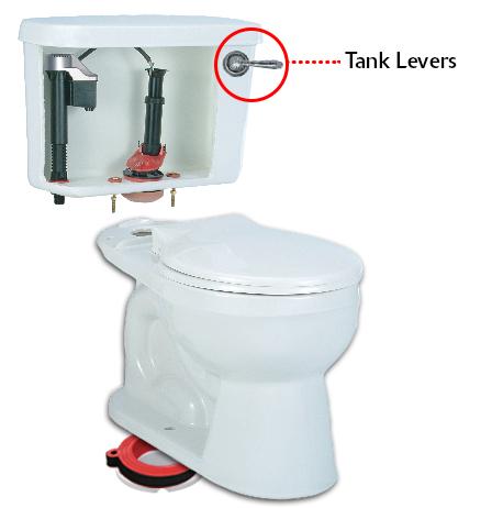 Toilet Handles Amp Toilet Levers Toilet Flush Handle