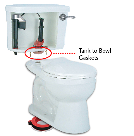 Tank To Bowl Gasket Toilet Tank Bolts Toilet Leaking