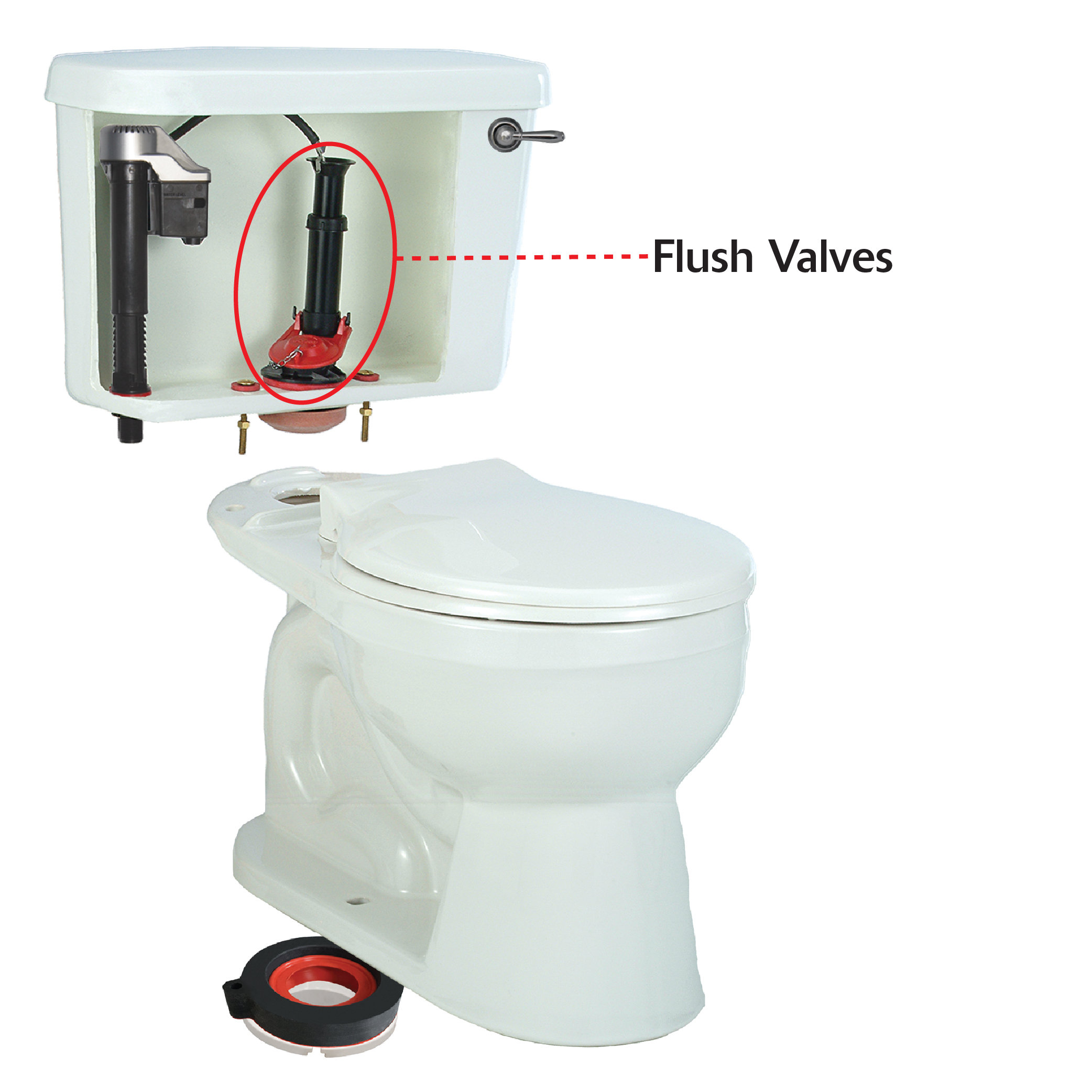 Flush Valve | Toilet Flush Valve Replacement | Korky Toilet Parts