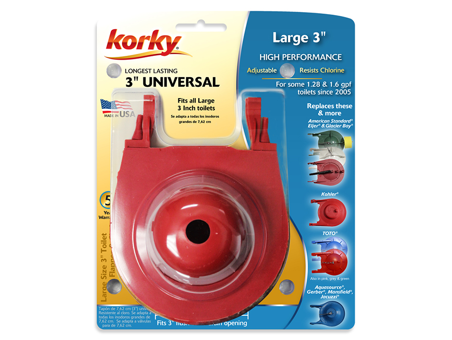 universal toilet flapper replacement. 3  Premium Universal Flapper Seal Replacements Korky