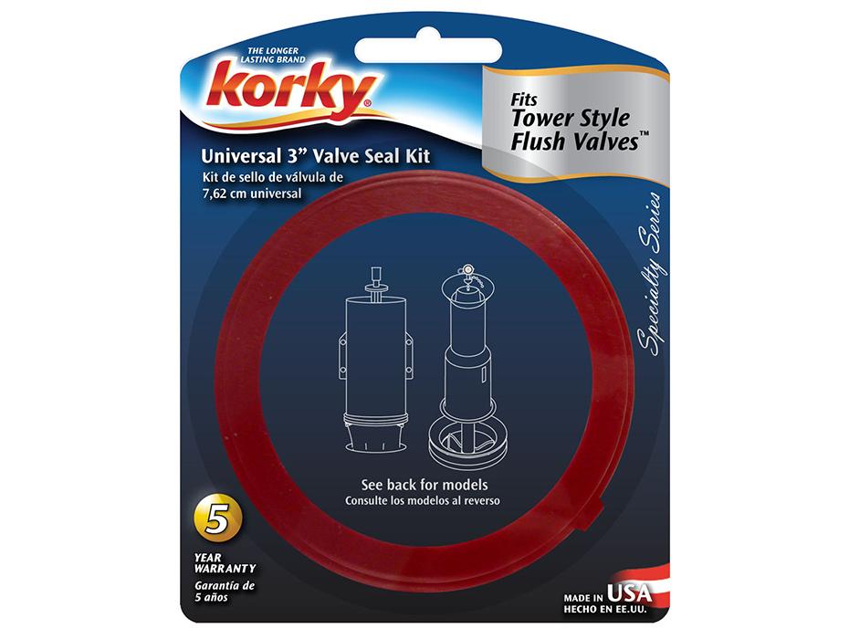 toilet tank flapper seal. Universal 3  Valve Seal Kit www korky com