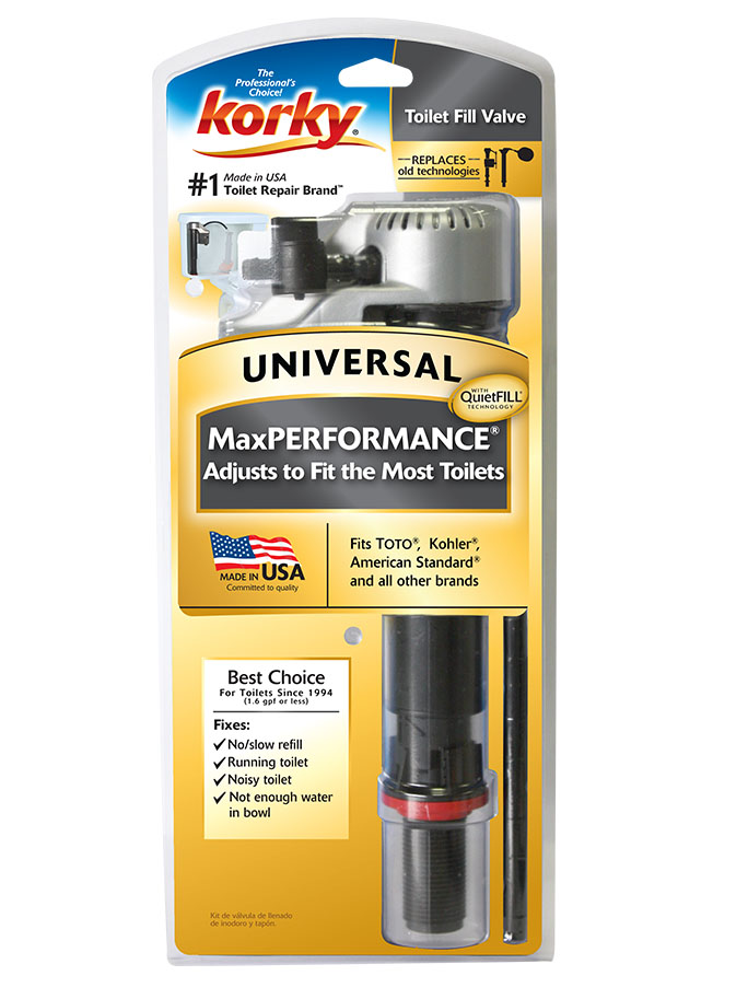 fill valve fits 99 of toilets