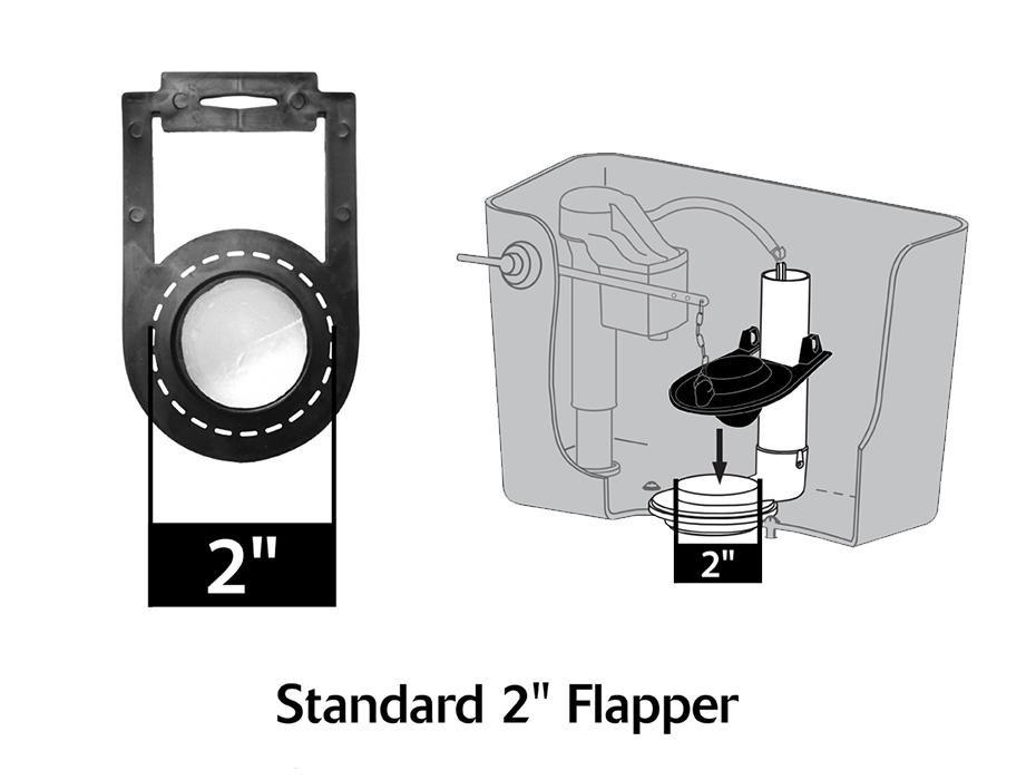 Fits Crane Flapper | www.korky.com
