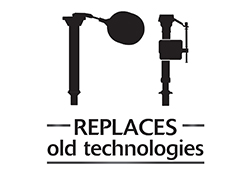 Replaces old technology