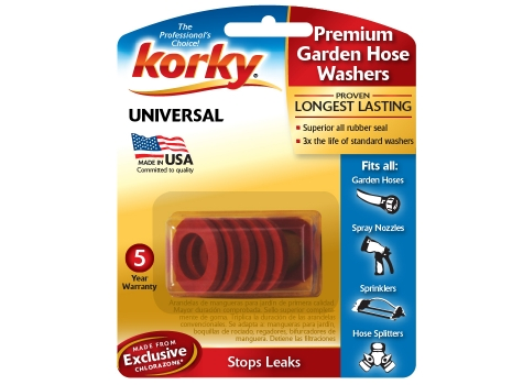 Premium Garden Hose Washer Kit wwwkorkycom