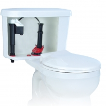 How to fix no refilling toilet