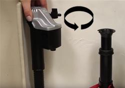 Unlock fill valve